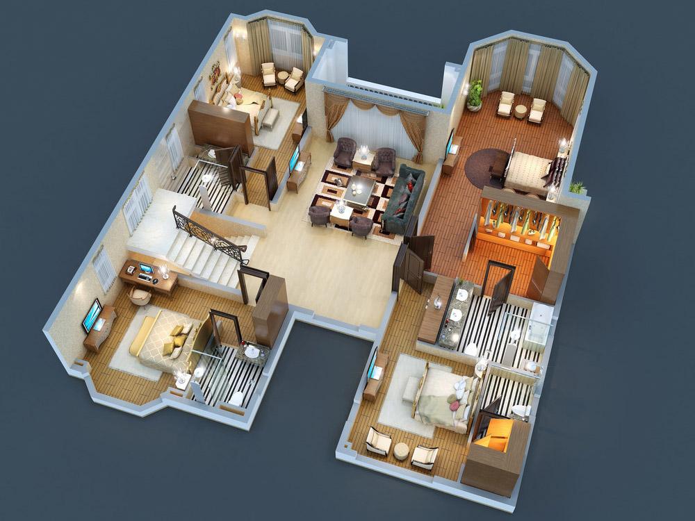 3D Floor Plan 2
